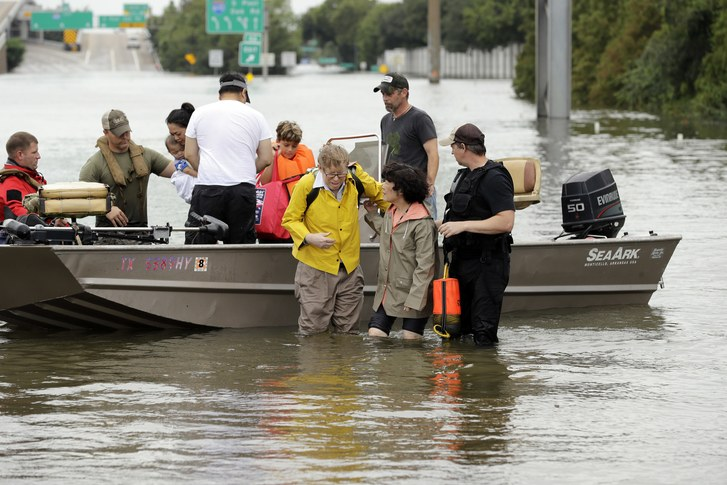 Reflections on flood, rescue, love in action