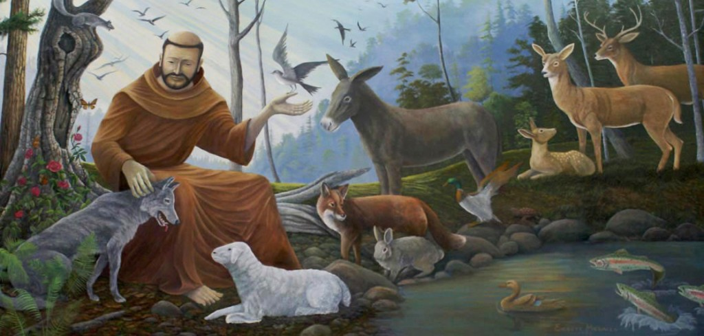 Inspired by St Francis, plus hope responding to shootings & earthquakes & volcanoes & hurricanes & fires