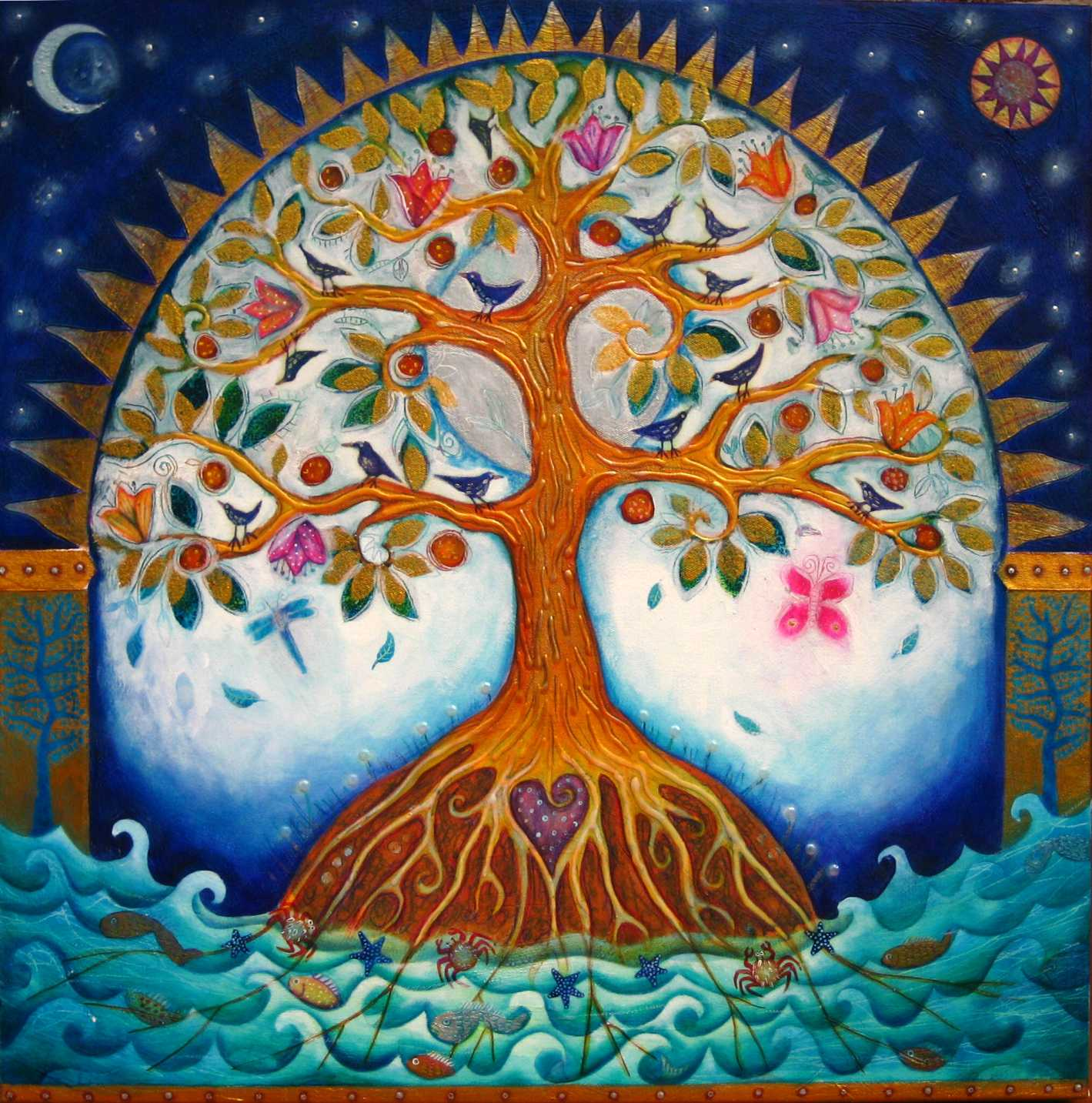 Meditations following Easter Sunday with themes about the Tree of Life