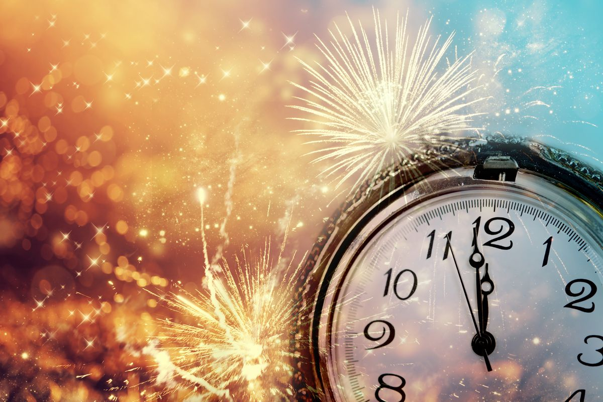 Reflections on New Year's Eve, 'kairos' and 'chronos' forms of time