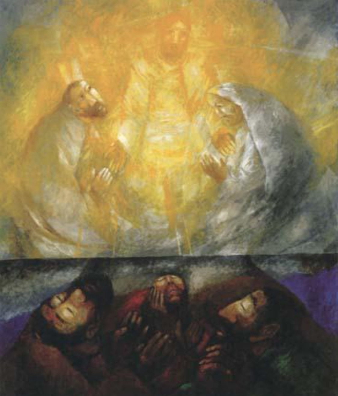 Reflections on the theme of transfiguration from Mark 9